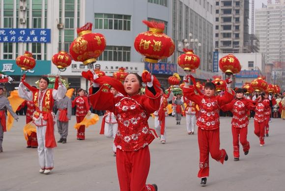 2016年,看米脂如何过春节?