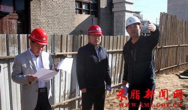 王国忠检查全县重点项目建设进展情况图片