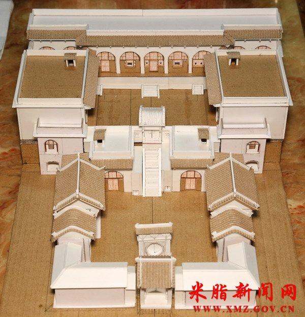 赵延强:一位用废纸箱制作米脂古代建筑的手工艺人